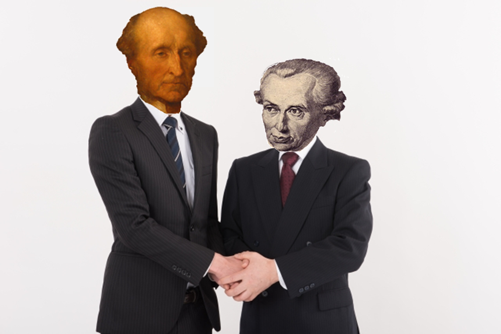 What Kant and Mill can agree on