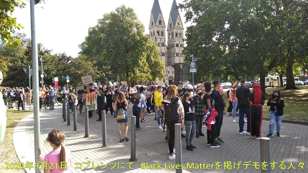 Demonstration Black Lives Matter